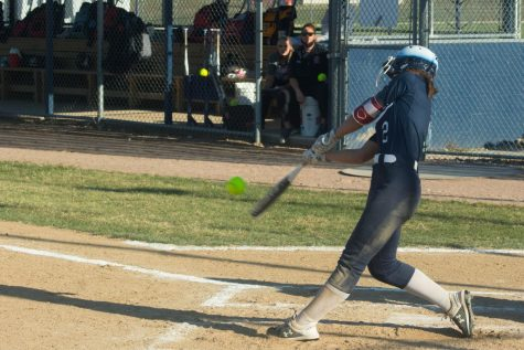 Home run hit by Alyssa