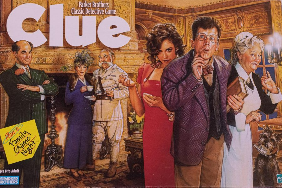 "The cover of the popular family game Clue. This year's play, ""Clue"", will be adapted to keep safety a top priority, while the Spotlight Players will work to make a good quality virtual play to watch from home."