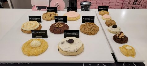 Crumbl Cookies has a rotating menu with 4 new cookies each week.
