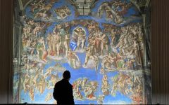 The Last Judgment was the piece that drew those who walked through the entrance to go straight to it. Many visitors spent a large amount of time studying the work for each minute detail. The more they looked the more they saw.