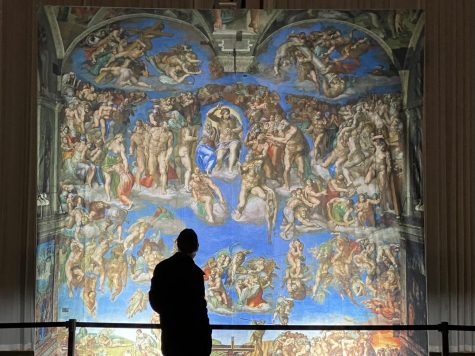 """The Last Judgment"" was the piece that drew those who walked through the entrance to go straight to it. Many visitors spent a large amount of time studying the work for each minute detail. The more they looked the more they saw."