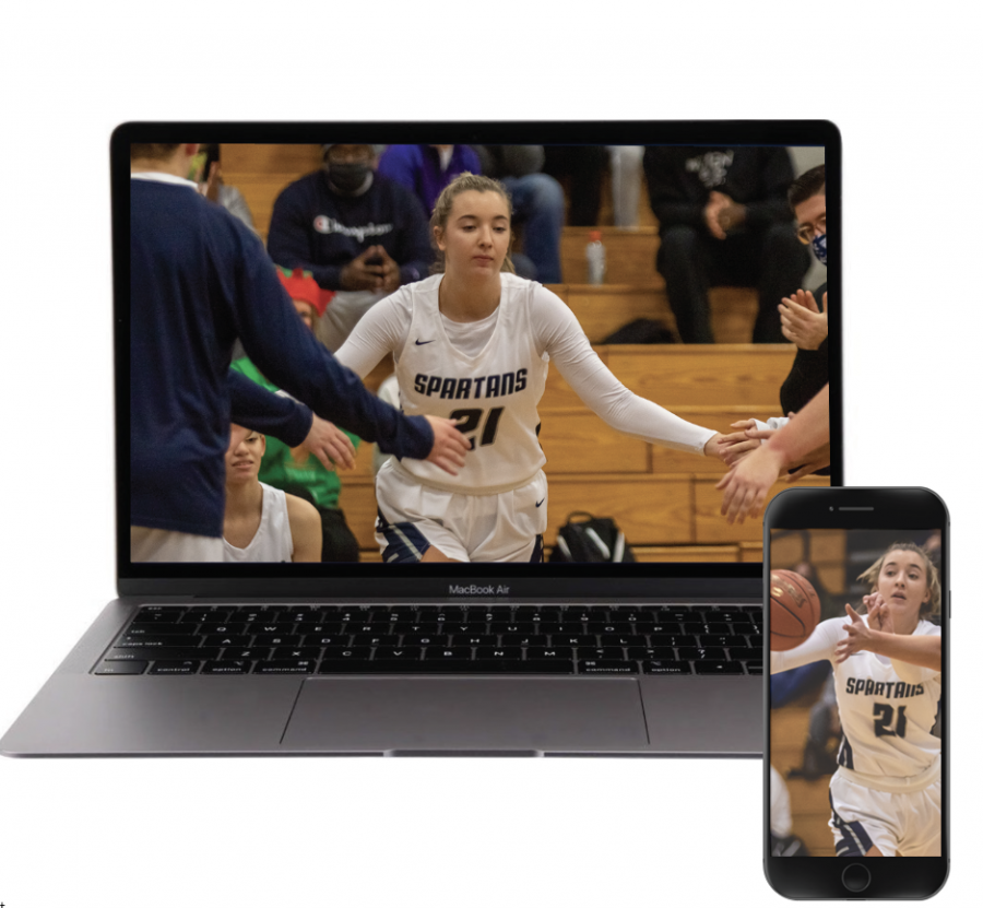 SWITCH OUT: Junior Rylee Denbow takes on Fort Zumwalt West on Dec. 17. Due to COVID-19, Denbow switched to online school to help preserve her season