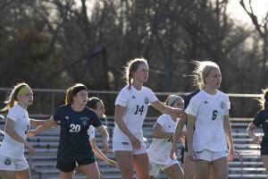 Girls Soccer Push on After an On-field Injury