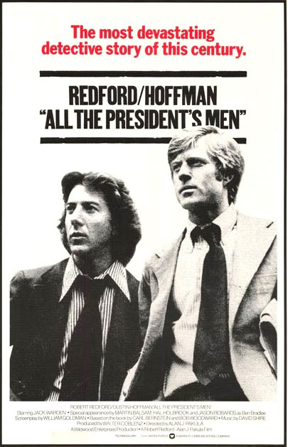 Woodward+and+Bernstein%2C+played+by+Robert+Redford+and+Dustin+Hoffman%2C+pose+for+a+movie+poster.+Throughout+the+film%2C+the+dynamic+duo+shows+their+immense+dedication+and+tenacity.