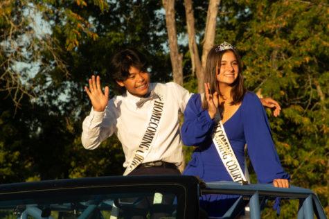 Homecoming King and Queen, Clara Kilen and Tino Javier