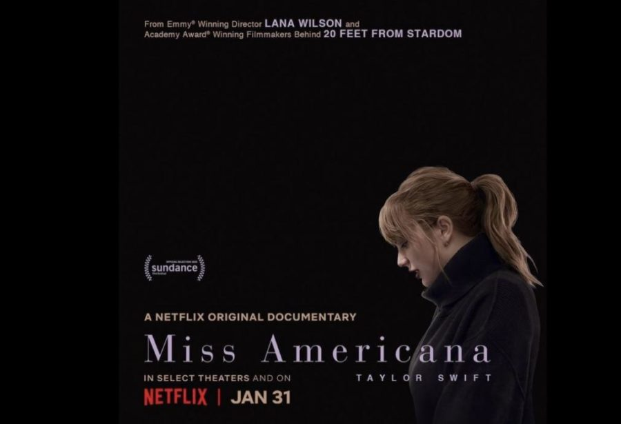 The advertisement used to promote the documentary, Miss Americana, which follows famed songwriter Taylor Swift from late 2018-2019. The film was initially released at the Sundance Film Festival on Jan. 23, 2020 and later on Netflix on Jan. 30, 2020.